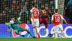 Ospina s'interpose devant Messi