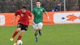 Maldin Ymeraj (Albania) & Jack Grealish (Republic of Ireland)