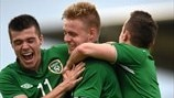 Alex O'Hanlon, Sam Byrne & Dylan Connolly (Republic of Ireland)