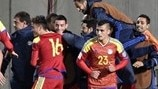 Andorra players celebrate