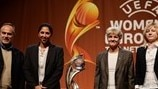 Group B coaches (Women's EURO Final Tournament Draw)