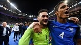 Hugo Lloris & Raphaël Varane (France)
