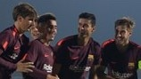 Temps forts UEFA Youth League : Juventus 0-1 Barcelone