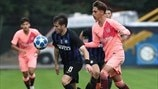 Youth League, temps forts : Inter 0-2 Barcelone