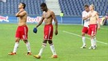 FC Salzburg players disappointed