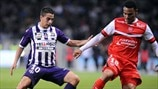 Wissam Ben Yedder (Toulouse FC) & Kenny Lala (Valenciennes FC)