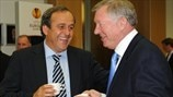 Michel Platini : Merci, Sir Alex
