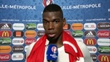 Satisfaction pour Paul Pogba