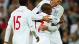 Peter Crouch, Jermain Defoe & Ashley Young (The Football Association)